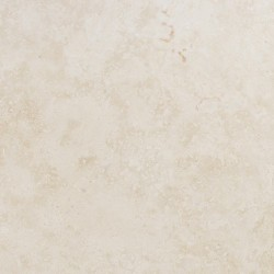 Travertine Chiaro (White) - Cross Cut - Epoxy Filled & Polished - Light Shade