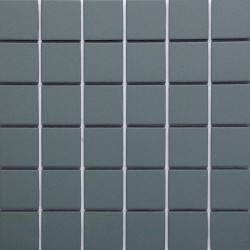 Green Matt Sheeted Paper Faced Mosaic Porcelain Tile 50x50