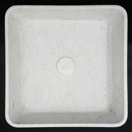 Carrara Honed Square Marble Basin 3033