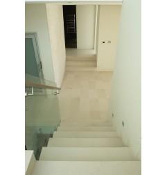 Crema Luminous Limestone Tile - Honed