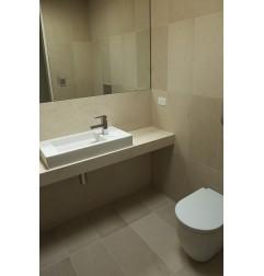 Crema Luminous Limestone Tile - Honed 600x300 - Bench Top : Crema Luminous