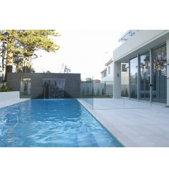 Crema Luminous Limestone Sandblasted Tile 600x300 -  Feature Walls : Blue Stone