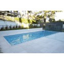 Crema Luminous Limestone Sandblasted Paver -Pool Coping
