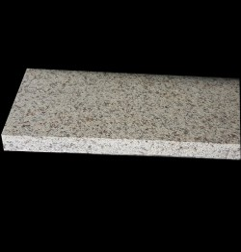 Diamond Gold Flamed Pencil Edge Step Tread Granite