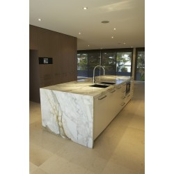 Calacatta Oro Italian Marble Bench Top - Polished