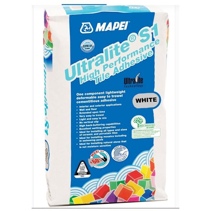 Mapei Adhesive Ultralite S1 White Stone Amp Tile Adhesive