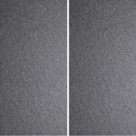 Charcoal and White Speckle Unglazed Porcelain Tile 600x300
