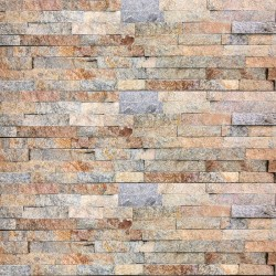 Earth Quartz Z Panel Stacked Stone