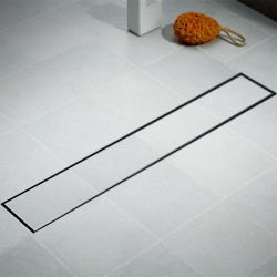 Tile Insert 316 Marine Grade Stainless Steel Strip Drain