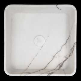New York Honed Square Marble Basin 3088