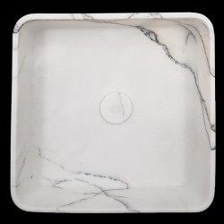 New York Honed Square Marble Basin 3089
