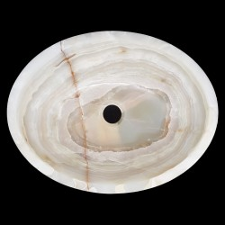 Onyx Polished Oval Basin 3170