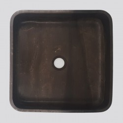Pietra Brown Honed Square Basin Limestone 3139