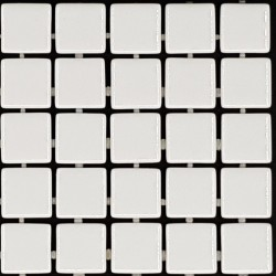 Trend Liquid White1100 Italian Glass Mosaic Tiles
