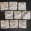 Diamond Gold Natural Split Brick Pattern Cobblestone Granite
