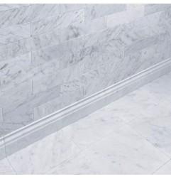 Carrara Honed Victorian Design Skirting Marble