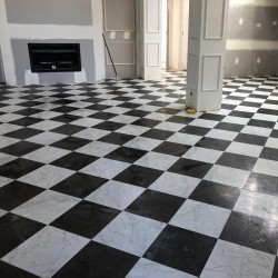 Nero Marquina chinese | Marble Tiles|Honed