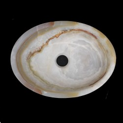 Onyx Polished Oval Basin 808