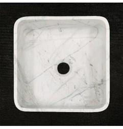 Persian White Honed  Square Basin Marble 3313