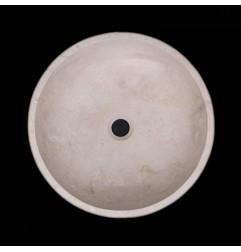 New Botticino Honed Round Marble Basin 938