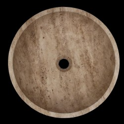 Classico Honed Round Basin Travertine 944