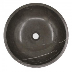 Pietra Grey Honed Round Basin Limestone 967