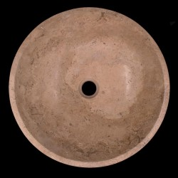 Noce Honed Round Basin Travertine 679