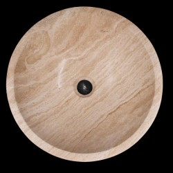Noce Honed Round Basin Travertine 763