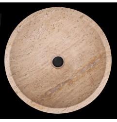 Noce Honed Round Basin Travertine 772