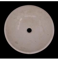 New Botticino Honed Round Marble Basin 632