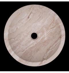 Classico Polished Round Basin Travertine 460