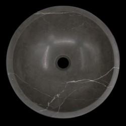 Pietra Grey Honed Round Basin Limestone 570