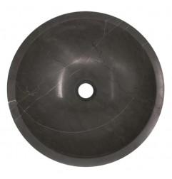 Pietra Grey Honed Round Basin Limestone 581