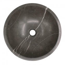 Pietra Grey Honed Round Basin Limestone 582