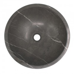 Pietra Grey Honed Round Basin Limestone 580
