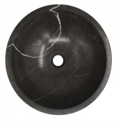 Pietra Grey Honed Round Basin Limestone 571
