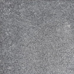 Pearl Black Flamed Bullnose Step Tread Granite