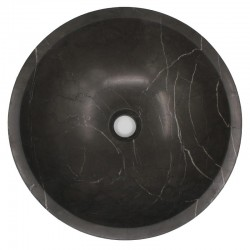 Pietra Grey Honed Round Basin Limestone 538