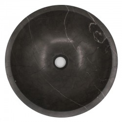 Pietra Grey Honed Round Basin Limestone 544
