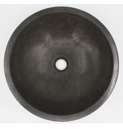 Pietra Grey Honed Round Basin Limestone 541