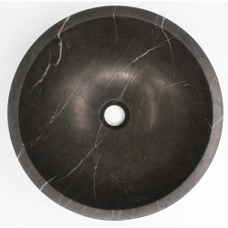 Pietra Grey Honed Round Basin Limestone 545