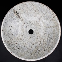 Kashmir White Polished Round Basin Granite KG01