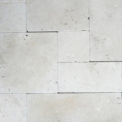 Chiaro French Pattern Tumbled Tile Travertine