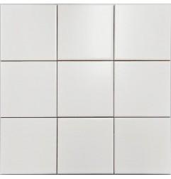 White Matt Non-Rectified Subway Ceramic 100x100
