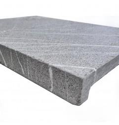 Pietra Grey Antique Rebated Pencil Edge Limestone