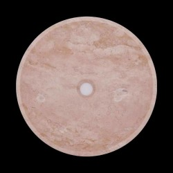 Classico Honed Round Basin Travertine 1747