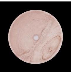 Classico Honed Round Basin Travertine 1753