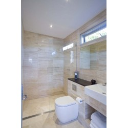 Travertine Classico Tiles - Vein Cut - Epoxy Filled & Polished