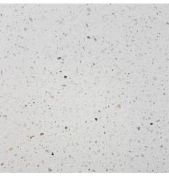 Salt White Brushed HD Terrazzo