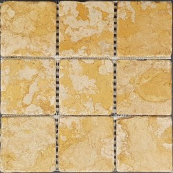 Gialo Reale Tumbled Sheeted Marble